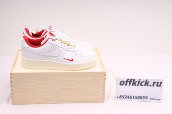 KITH x Nike Air Force 1 Low White Red CU2980-193